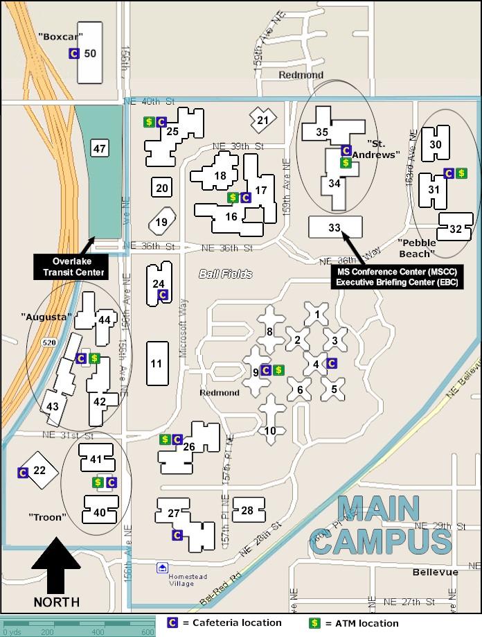 Facilities Web Campus Maps