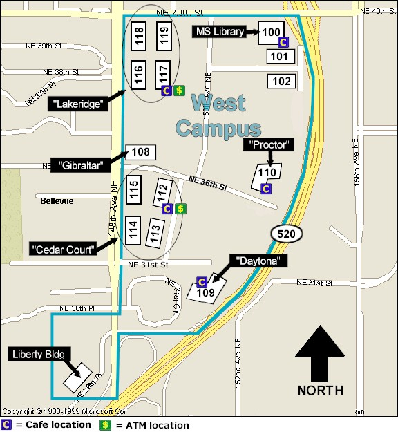 Facilities Web Campus Maps